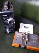 CORONET MODEL B 9.5mm VINTAGE CINE CAMERA - USED CONDITION & Ross Slicer