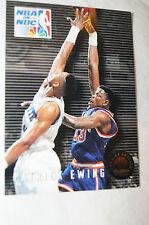 NBA CARD - Sky Box - NBA on NBC - Patrick Ewing - Knicks vs Hornets.