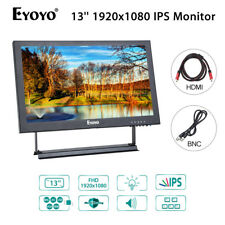 "EYOYO 13"" Moniteur IPS Ecran Vidéo Audio VGA BNC HDMI AV USB Pour CCTV DVD PC"