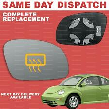 VW New Beetle 2003-2010 wing mirror glass for Right driver side Heated
