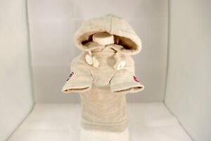 Dog Clothes Wear White Hoodie Cool Cute Small Size Poodle from Japan 6