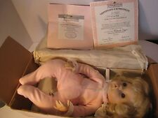 "1994 ASTON-DRAKE DOLL""SUGAR PLUM"" #KT20939, VINYL COLLECTION,""AS CUTE AS CAN BE"""