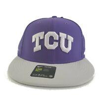 TCU Horned Frogs Nike Sideline Coaches Swoosh Performance Adjustable Hat
