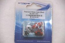Xtreme B130X02-R Titanium Rotorkopf Rot eloxiert für Blade 130 X
