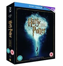 "HARRY POTTER THE COMPLETE COLLECTION 16 DISCS BOX SET BLU-RAY RB ""NEW&SEALED"""