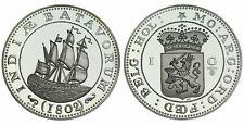 Zilveren Proof replica -  1 Gulden zilver 1802 .925 zilver, 31,1 gram