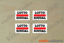 PEGATINA STICKER VINILO Lotto Soudal autocollant aufkleber adesivi