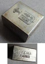 Matrice de sceau Cachet en acier STERN armoiries écusson seal