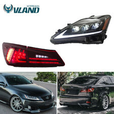 For 2005-2013 Lexus IS250/350 ISF Sequential Turn Headlight + LED Tail Light