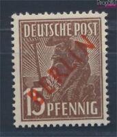 Berlin (West) 25 geprüft postfrisch 1949 Rotaufdruck (8717007