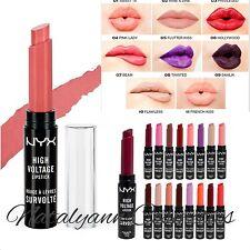 NYX Professional Makeup High Voltage Lip Lipstick 2.5g Choose Shade + SEALED