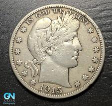 1915 S Barber Half Dollar  --  MAKE US AN OFFER!  #B7583