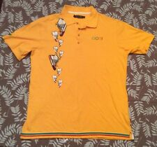Vintage Coogi Australia Sneaker Shoes Embroidered Spell Out Shirt sz XL