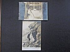 Russia (3) Different Postcards, Black & White, 1912/1917, nice early Russia stmp