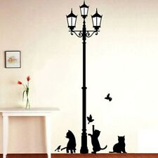 Cats and Birds Decal Wall Sticker DIY Removable Art Mural Home Deco Kids Room
