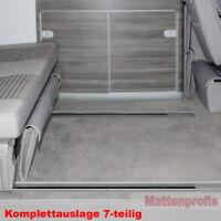Premium Velour Fußmatten komplett für VW T6 California Ocean Küche ab Bj.2015 MR