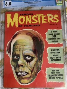 Famous Monsters of Filmland Issue #3 CGC 6.0! free shipping! no reserve!