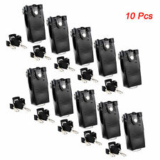 New 10pcs Hard Leather Case Cover Bag~Holder for Motorola  GP328/338 HT750 Radio