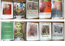 10 AFFICHES EXPO ARTISTES 1950/1993 BUFFET SALMON ROUAULT FRENEL GOETZ GOETZ