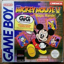 Nintendo Game Boy - Mickey Mouse V Magic Wands - Gameboy ENG ITA Disney Kemco