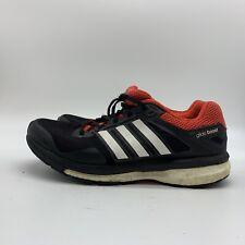 Adidas Supernova Glide Boost Men Black/Red Athletic Running Shoe, Size 6.5
