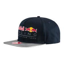 RED BULL RACING NEW BLOCK SNAPBACK FLAT PEAK CAP HAT HEADWEAR FORMULA 1 PUMA