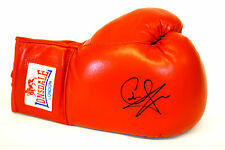 * New *  Carl Froch Hand Signed Red Lonsdale Autograph Boxing Glove