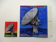 ~1971 SINGAPORE SATELLITE EARTH STATION~