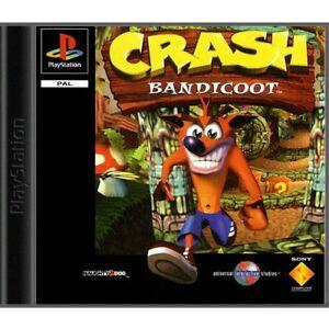 PS1 / Sony Playstation 1 Spiel - Crash Bandicoot 1 mit OVP