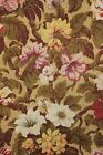 Tapestry Vintage French woven HEAVY fabric table cover w/ trim c1900 brocade