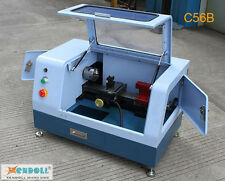 220V C56B MACH3 Mini CNC Lathe Machine Metal Steel Brass Aluminum Jewelry Work