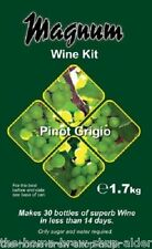 Magnum Pinot Grigio Wine Making Kit - Home Brewing - Makes 30 Bottle - 5 gallons