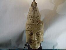 ORIG 1950 WESTWOOD/NYC BUDDHA STATUE LAMP JAMES MONT ERA SCULPTURE MCM