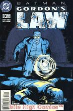 BATMAN: GORDON'S LAW (1996 Series) #3 Near Mint Comics Book