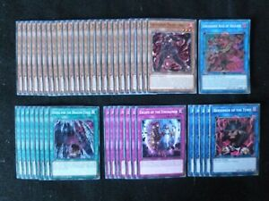 YU-GI-OH 46 CARD UNCHAINED / TENYI DECK  *READY TO PLAY*