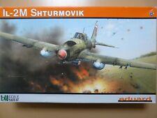 Maquette avion EDUARD 1/48 Ref 8165 IL-2M Shturmovik