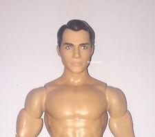 Barbie Batman V Superman Henry Cavill NUDE Articulated Muscular Ken Doll NEW