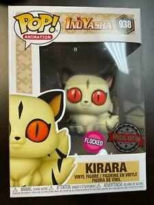 Funko POP! Inuyasha #938 - Kirara (Flocked) Exclusive MINT Special Edition