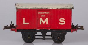 Hornby O Gauge No.1 LMS Gunpowder Van White LMS