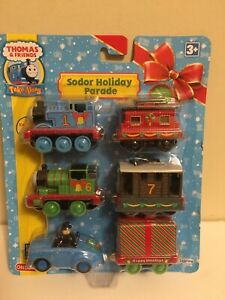 2009 Learning Curve Thomas & Friends Sodor Holiday Parade Die Cast Train Set-NIP