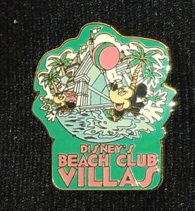 Disney Pin Pins #16547 Disney's Beach Club Villas