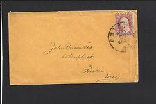 CHICAGO, ILLINOIS #26 MANILA 1860 S.O.N. COVER, COOK CO. 1831/OP.