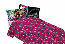 "Monster High ""All Ghouls Allowed"" Full Size Sheet Set"