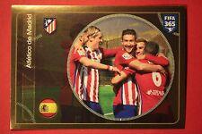 PANINI FIFA 365 - 2017 N. 50 TEAM ATLETICO DE MADRID TOP MINT !
