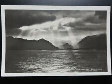 """Cumbria: """"A RIFT IN THE CLOUD"""" DERWENTWATER - RP Old Postcard - Pub by Abraham"""