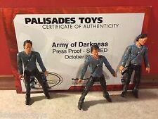 Prototype Test Shot Palisades Army of Darkness Suncoast Evil Ash w/ COA #X203