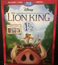The Lion King 1 1/2 (Blu-ray, DVD + Slipcover)