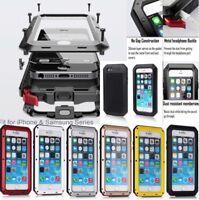 Metal Aluminium Gorrila Glass Water ShockProof Phone Case For Samsung S10 S10+