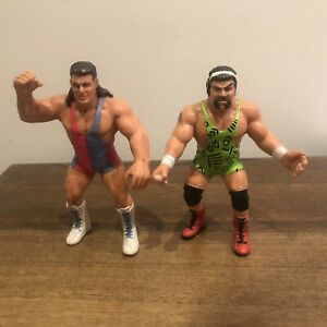 WCW The Steiner Brothers Galoob Vintage UK Exclusive Action Figures