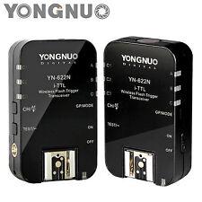 Yongnuo Updated YN-622N II HSS  +TTL Wireless Flash Trigger  1/8000s  for Nikon